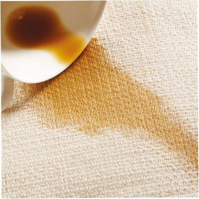 coffee spill
