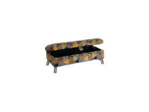 Custard Tart Ottoman Footstool