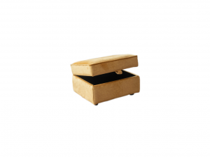 Custard Tart Storage Footstool