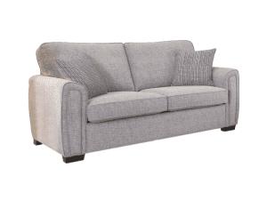 Galaxy 3 seater standard back sofa