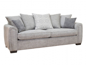 Galaxy 4 seater pillow back sofa