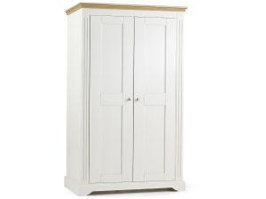 Elderflower 2 Door Wide Full Length Wardrobe