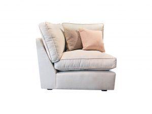 Marshmallow 1 Seat Armless Corner Module Sopha