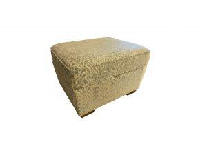 Popcorn Storage Footstool