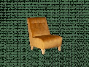 Rum N Rasin Armless Accent Chair