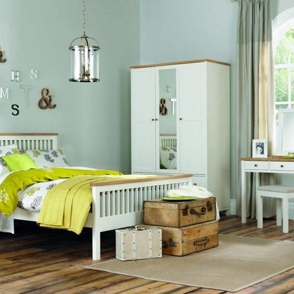 Thyme Bedroom vanilla and oak Range