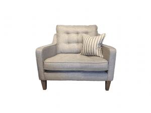 Madeira armchair in Suma Silver