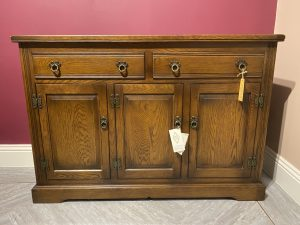 ex-display old charm sideboard