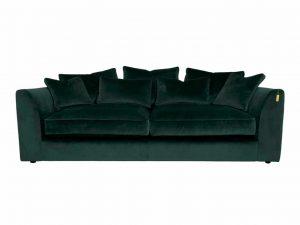 Gateaux Large Sofa in Malta Jasper Velvet