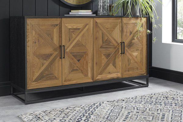 Tarragon Wide Sideboard - Roomset
