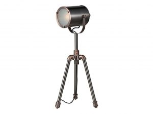 Beacon Antique Silver And Copper Table Task Lamp