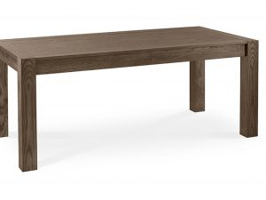 Sopha Avocado dark oak large end extension table