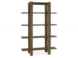 Sopha Avocado dark oak open shelf unit
