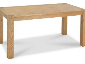 Sopha Avocado light oak 6 seater dining table