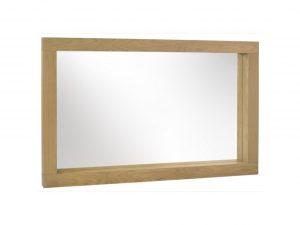 Sopha Avocado light oak large mirror