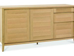 Sopha nutmeg oak wide sideboard