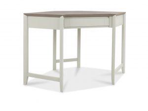 Sopha Nutmeg two tone corner desk