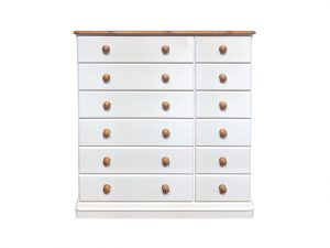 Cinnamon 12 Drawer Chest of Drawers Sopha