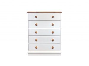 Cinnamon 5 Drawer Chest of Drawers Sopha