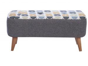 medium designer bench stool